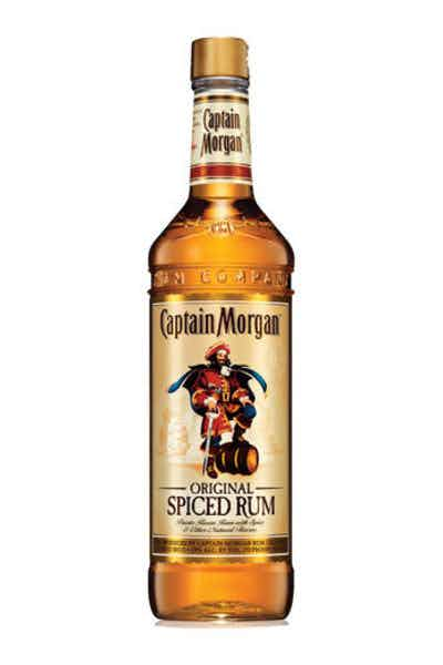 Captain morgan original spiced rum drizly for What goes good with spiced rum