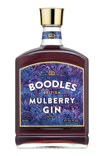 Boodles British Mulberry Gin