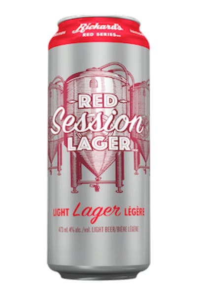 Rickard's Red Session Lager