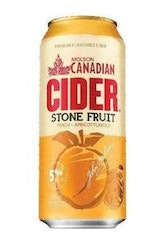 Molson Canadian Stone Fruit Cider