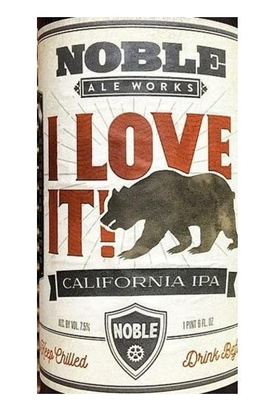 Noble Ale Works I Love It! IPA