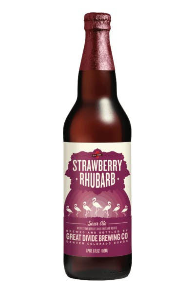 Great Divide Strawberry Rhubarb Sour Ale