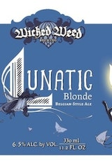 Wicked Weed Lunatic Blonde Belgian Ale
