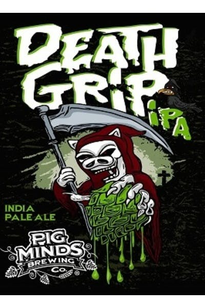 Pig Minds Brewing Death Grip IPA
