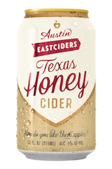 Austin Eastciders Texas Honey Cider