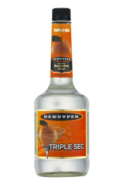 Dekuyper triple sec liqueur price reviews drizly for Cocktail triple sec