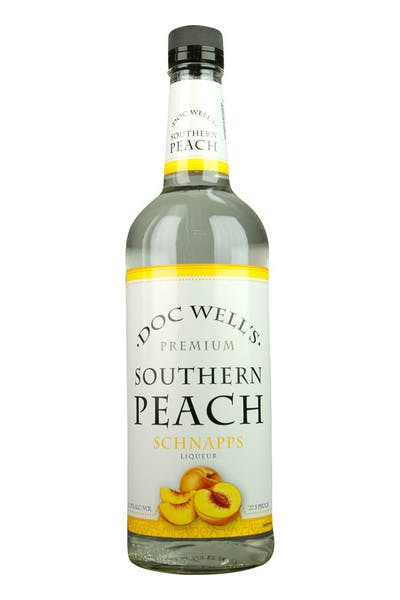 Doc Well's Peach Schnapps