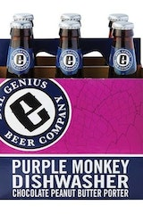 Evil Genius Purple Monkey Dishwasher Chocolate Peanut Butter Porter