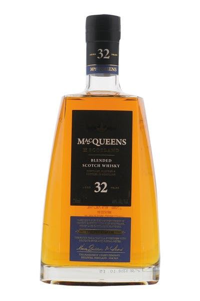 Macqueens 32 Year Blended Scotch Whiskey