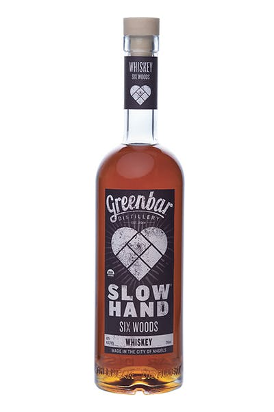 Slow Hand Six Woods Whiskey  from Greenbar Distillery