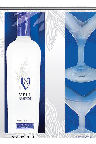 Veil Vodka Gift Pack W/ Glass